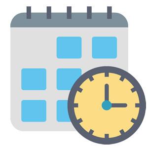 <em>Bedienung</em><br><b>Kalender</b>