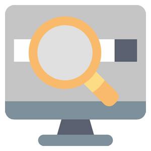 <em>Bedienung</em><br><b>Stichwortsuche und erweiterte Suche</b>